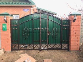 Ворота кованые #004