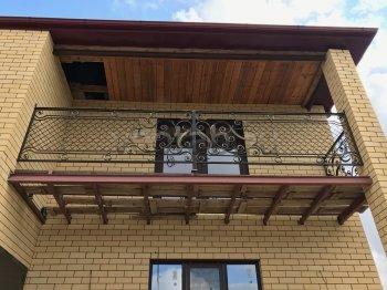 Кованые балконы #0012