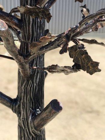 """Кованое дерево """"дуб""""  #42"""