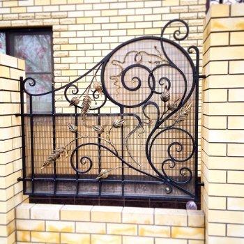 Забор кованый #0129