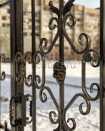 Ворота распашные #011
