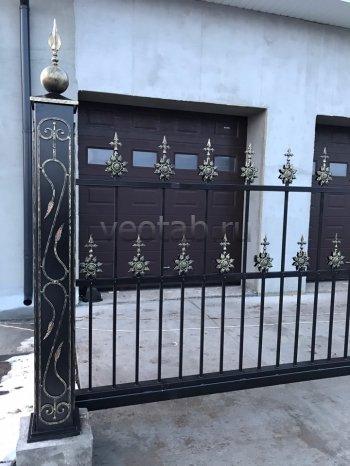 Ворота откатные  #011