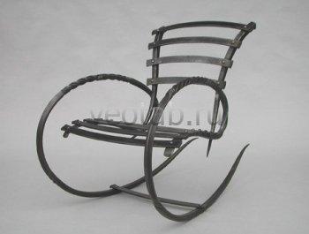 Кованые кресла-качалки #36