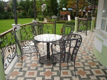 Кованая мебель для дачи #35