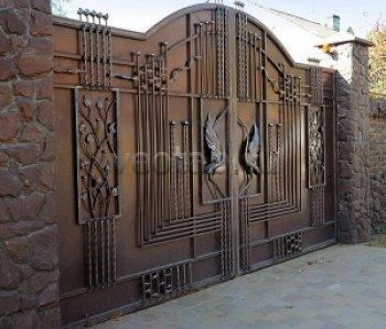 Ворота распашные  #1
