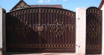 Ворота распашные #020