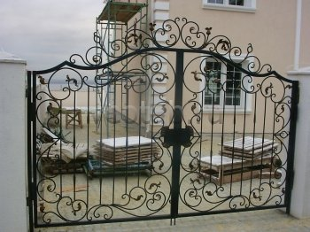 Ворота кованые #27