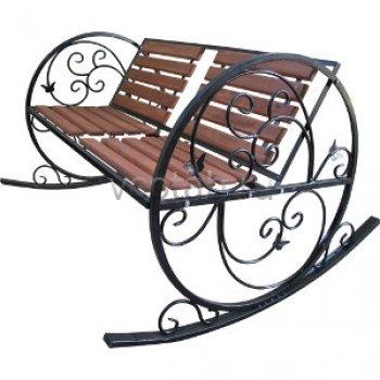 Кованые кресла-качалки #10