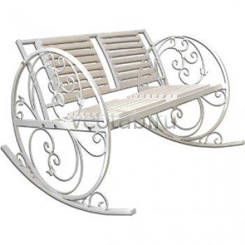 Кованые кресла-качалки #11
