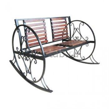 Кованые кресла-качалки #12