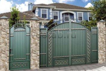 Ворота кованые #081