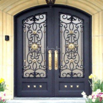Кованые двери #41