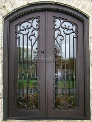Кованые двери #23