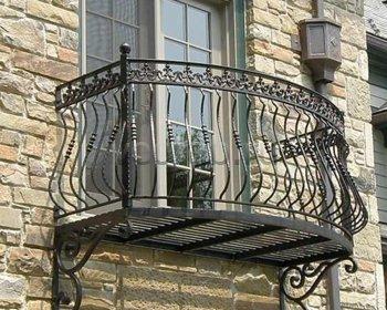 Кованые балконы #0013