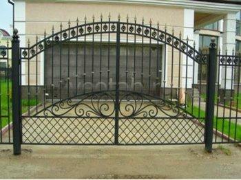 Ворота распашные #005