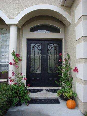 Кованые двери #26