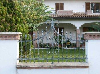 Забор кованый #0097