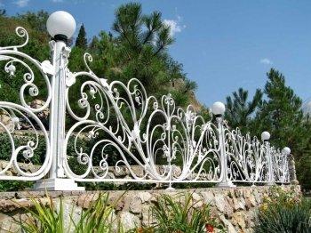 Забор кованый #0122