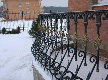 Забор кованый #0126