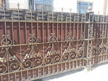 Ворота металлические #73