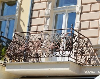 Кованые балконы #21