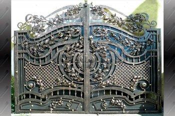 Ворота кованые #020