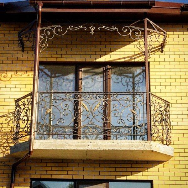 Кованые балконы #1.