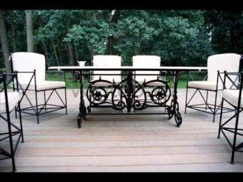 Кованая мебель для дачи #17