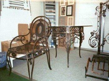 Кованая мебель для дачи #0018
