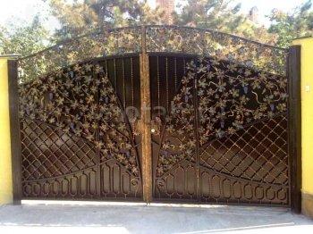 Ворота кованые #074