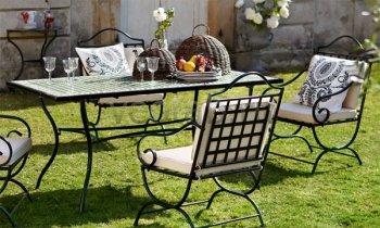 Кованая мебель для дачи #0020