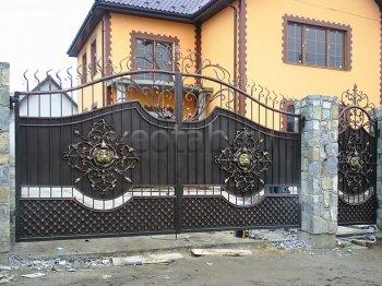 Ворота распашные  #24