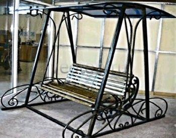 Кованая мебель для дачи #21