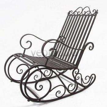 Кованые кресла-качалки #29