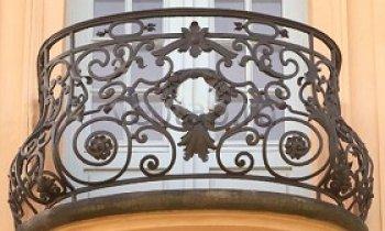 Кованые балконы #26