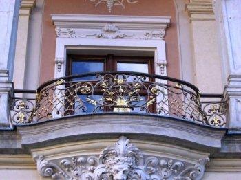 Кованые балконы #24