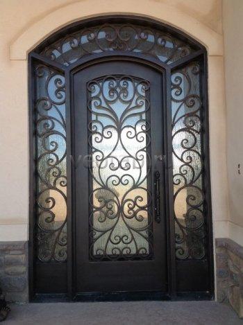 Кованые двери #34