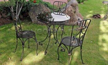 Кованая мебель для дачи #0026