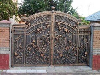 Ворота кованые #30