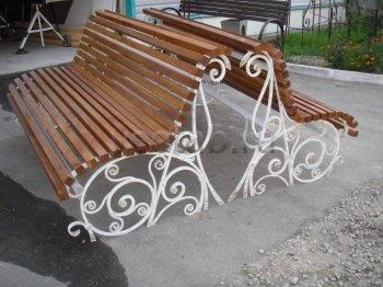 Садовая скамейка #0000101