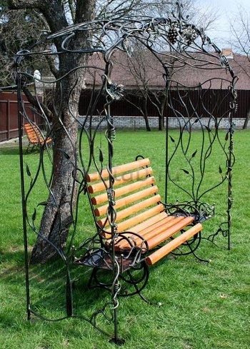 Кованая мебель для дачи #34