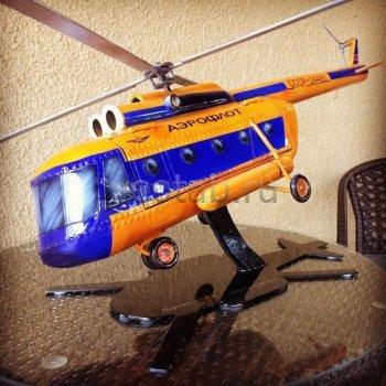 Кованый подарок #006 (минибар/винница вертолёт)