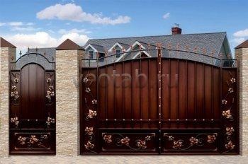 Ворота распашные  #28