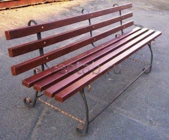 Садовая скамейка #0000102