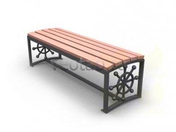 Садовая скамейка #00004