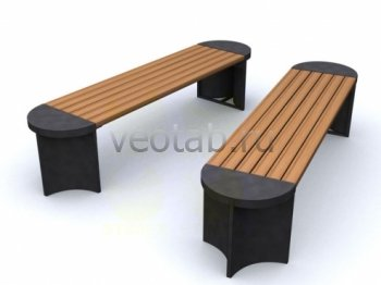Садовая скамейка #00006