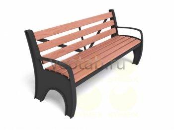 Садовая скамейка #00019
