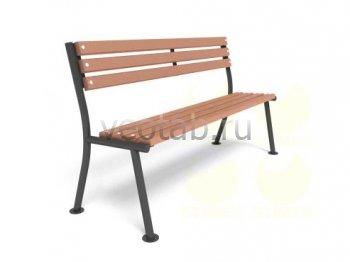 Садовая скамейка #00017