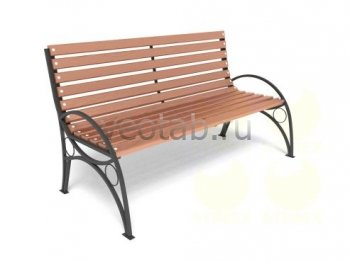 Садовая скамейка #00007