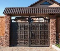 Ворота распашные  #3